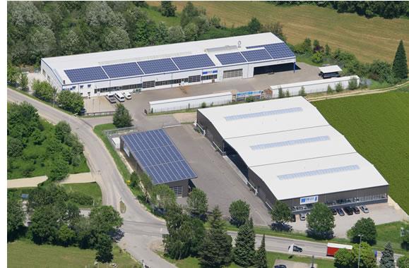 Produktionshalle Will Stahlbau