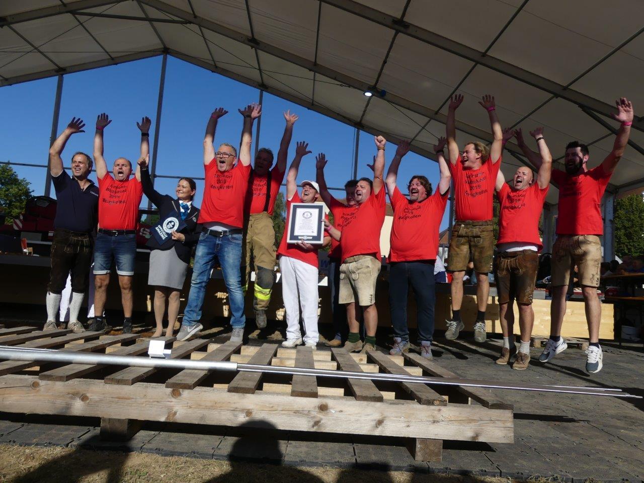 Schnitzel Weltrekord